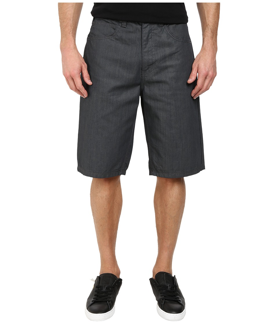 Request - Garrison Denim Shorts (Grey Coated) Men's Shorts
