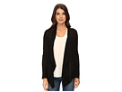 Long Sleeve Flyaway Cardi w/ Ribbed Trim