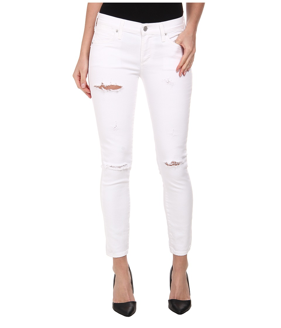 A Gold E - Colette Crop in Malibu Distressed (Malibu Distressed) Women's Jeans