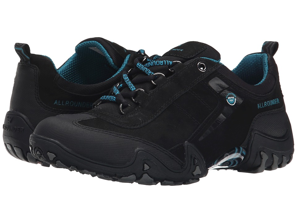 Allrounder by Mephisto Fina Tex (Black Rubber/G Nubuck) Women