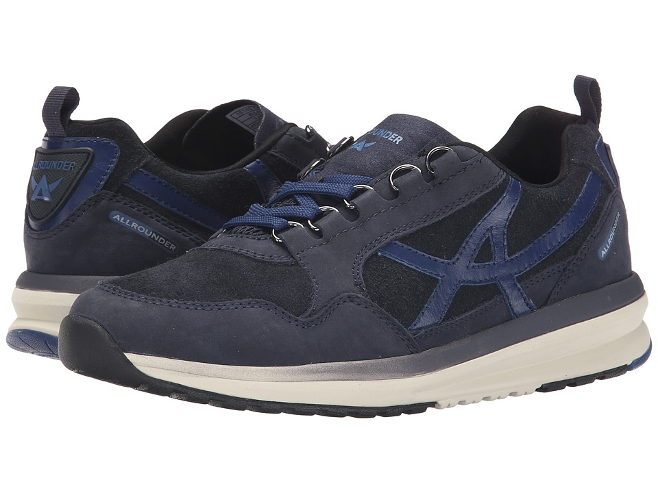 Allrounder by Mephisto - Kalibra (Dark Blue G Nubuck/O Suede) Women's Lace up casual Shoes