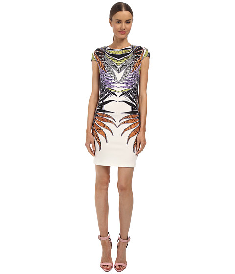 Just Cavalli - S04CT0356N20858 (White Variant) Women's Dress