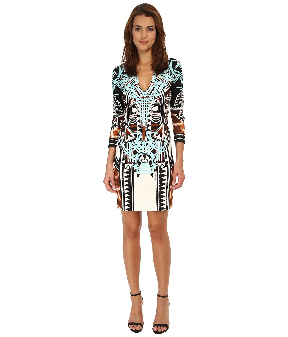 Just Cavalli - S04CT0371N20848 (Natural Variant) Women's Dress
