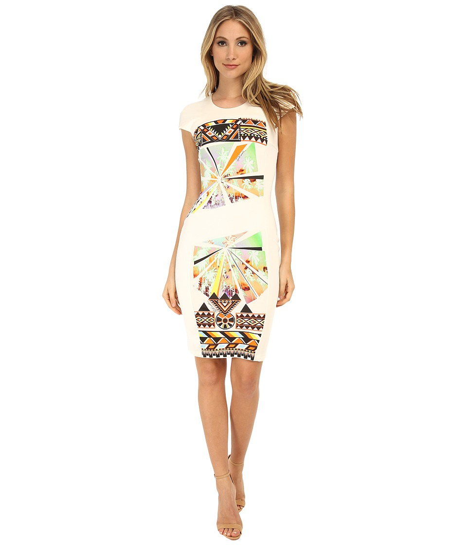 Just Cavalli - S04CT0383N20855 (White Variant) Women's Dress