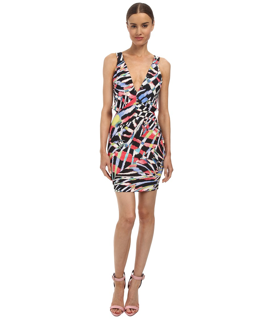 Just Cavalli - S04CT0379N20840 (Multicolor Variant) Women's Dress