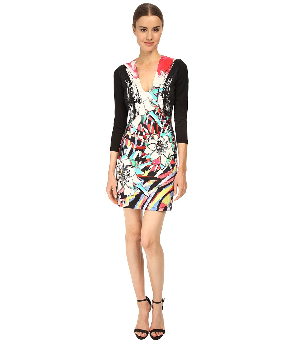 Just Cavalli - S04CT0371N20859 (Multicolor Variant) Women's Dress