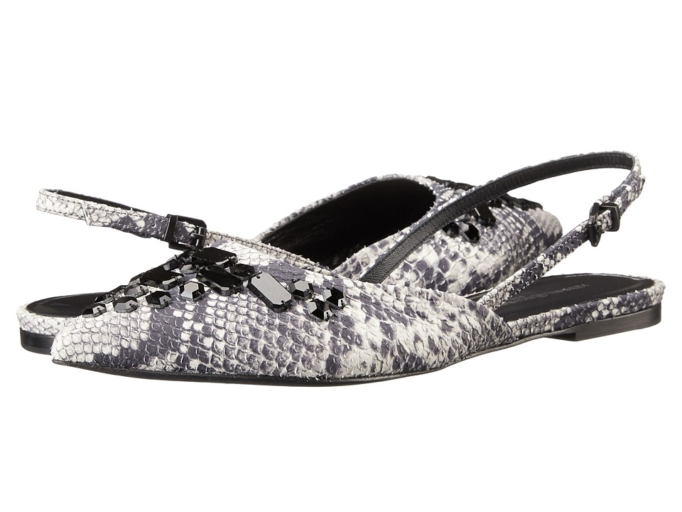 Kennel & Schmenger - Zone Slingback Flat (Roccia) Women's Flat Shoes