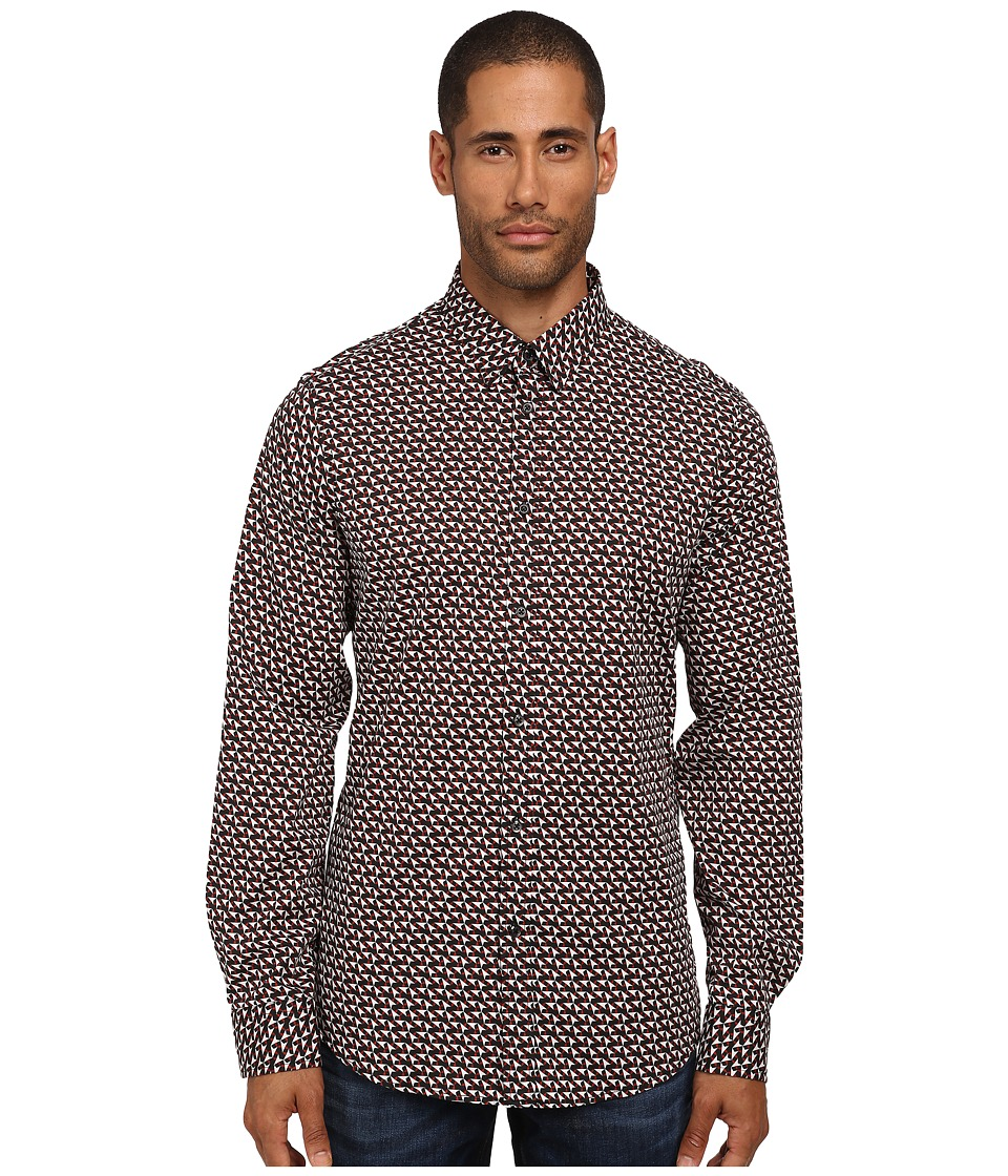 Just Cavalli - Memphis Star Button Up (Black Variant) Men's Clothing
