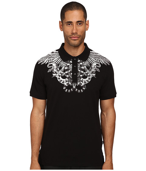 Just Cavalli - Secret Emblem Polo (Black) Men