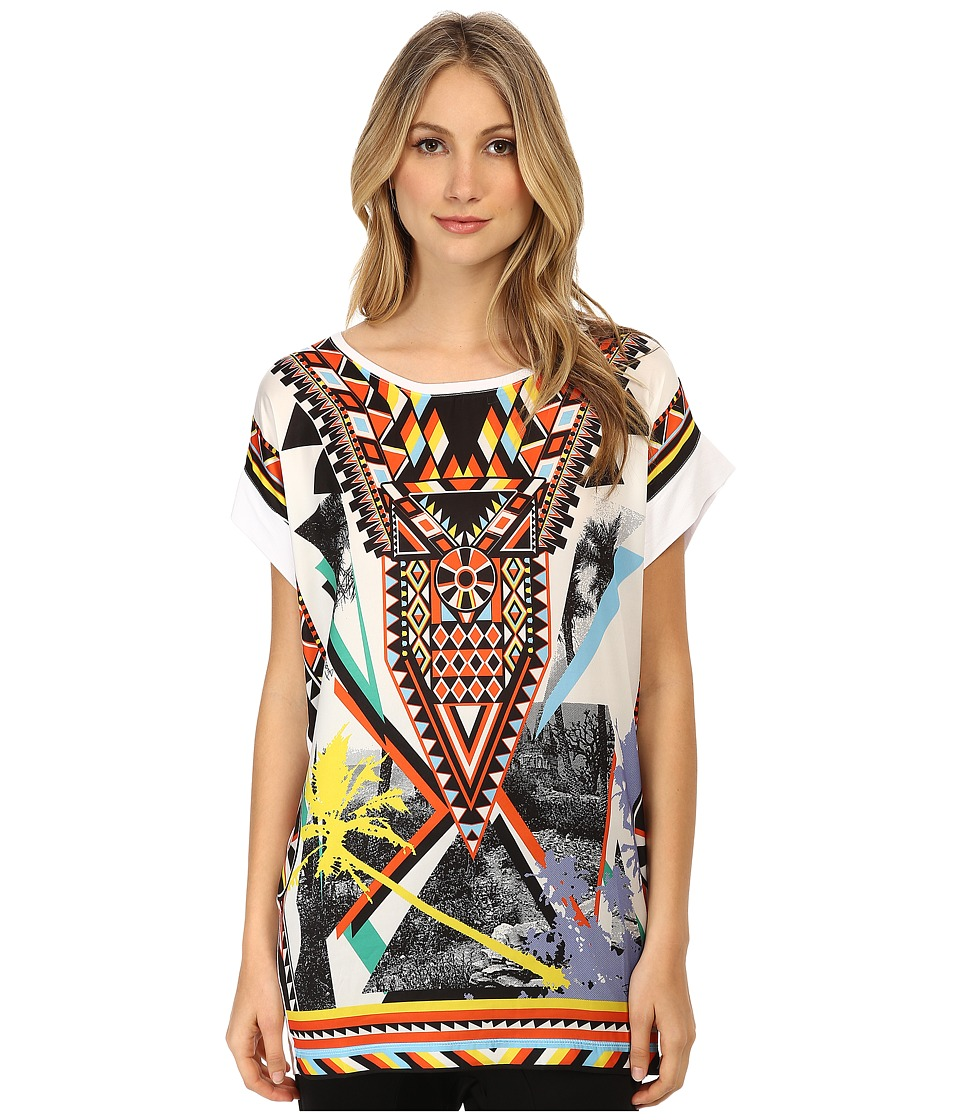 Just Cavalli - S04GC0159N20597 (Optical White) Women's T Shirt