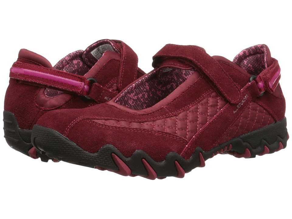Allrounder by Mephisto - Niro (Mid Red Suede/Wela Mesh) Women's Maryjane Shoes