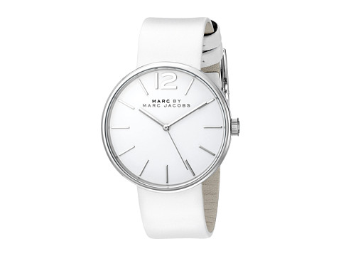 Marc by Marc Jacobs - MBM1361 - Peggy (Stainless/White) Watches