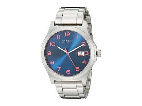 Marc by Marc Jacobs - MBM5085 - Jimmy (Silver/Navy) Watches