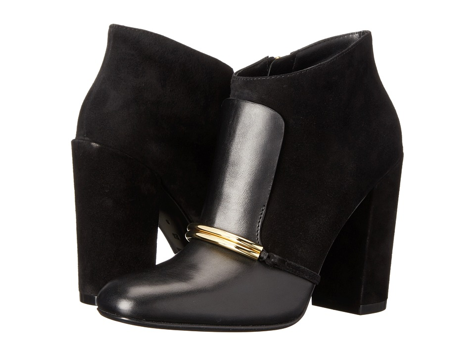 Sigerson Morrison - Tutu (Black Leather/Black Suede) Women