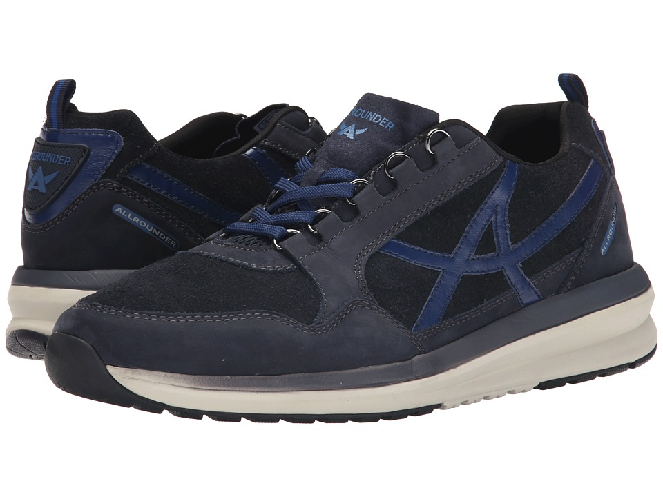 Allrounder by Mephisto - Escudo (Dark Blue G Nubuck/O Suede) Men's Lace up casual Shoes