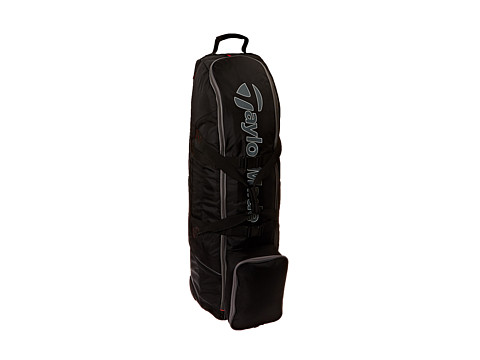 Taylor Made - Players Travel Cover (Black/Gray/Red) Bags