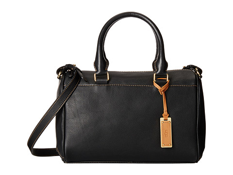 UGG - Lucy Satchel (Black) Satchel Handbags