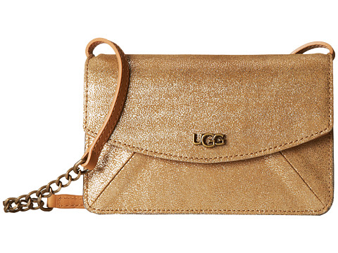UGG - Leni Crossbody (Wet Sand Metallic) Cross Body Handbags