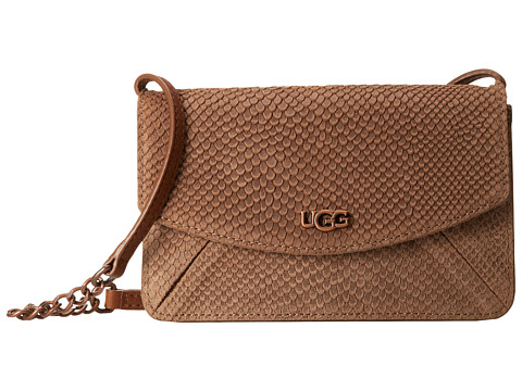 UGG - Leni Crossbody (Wet Sand) Cross Body Handbags