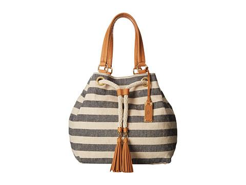 UGG - Devan Tote (Navy/Natural) Tote Handbags