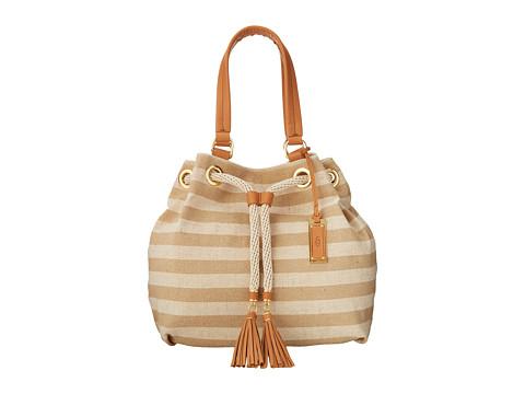 UGG - Devan Tote (White/Walnut) Tote Handbags