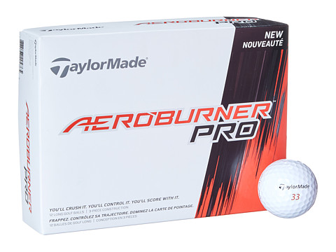 Taylor Made - Aeroburner Pro Dozen (White) Athletic Sports Equipment