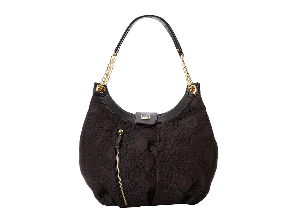 petunia pickle bottom - Embossed Hideaway Hobo (Central Park North Stop/Special Edition) Diaper Bags