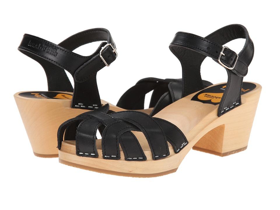 Swedish Hasbeens - Pearl High (Black) High Heels