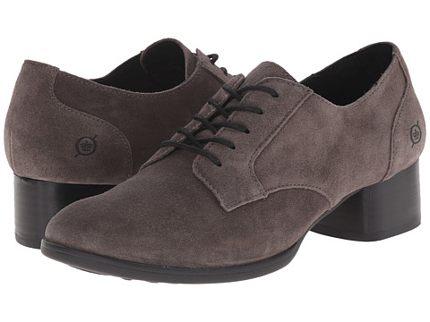Born - Sloan (Grey Suede) Women's Lace up casual Shoes