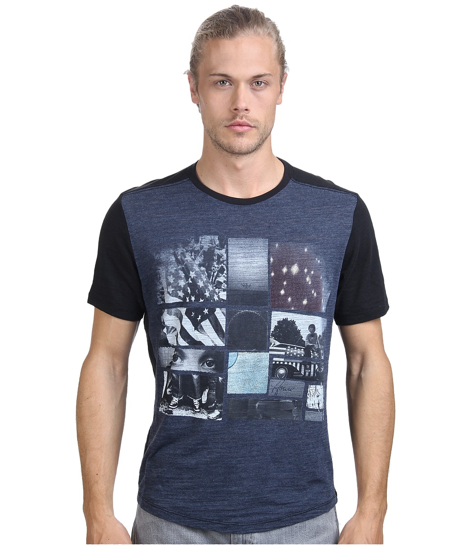 Howe - For The Record Graphic Tee (Commodore/Black) Men