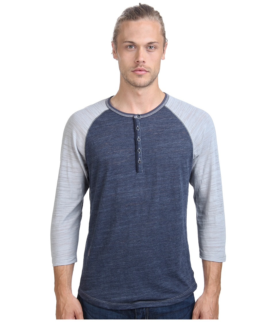 Howe Butta Cup Knit Henley (Commodore) Men
