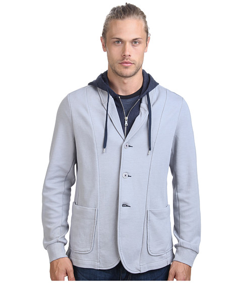 Howe - M22 Knit Hoodie Blazer (November Sky) Men