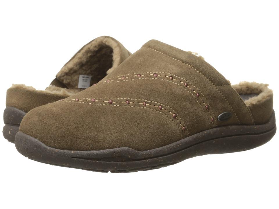 Acorn - WearAbouttm Beaded Clog w/ FirmCoretm (Cider) Women's Slippers