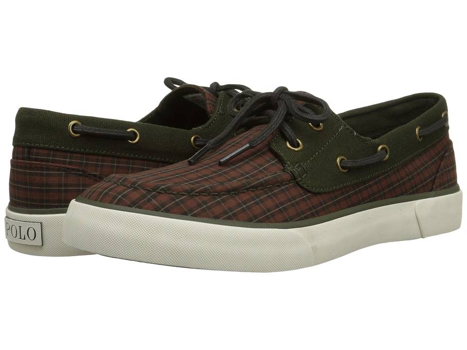 Polo Ralph Lauren - Lander (Wine/Olive Gilbert Plaid) Men
