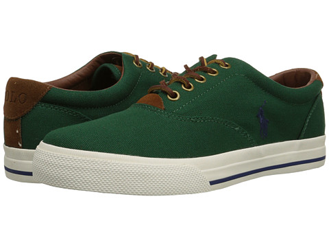 Polo Ralph Lauren - Vaughn (New Forest Canvas) Men's Lace up casual Shoes