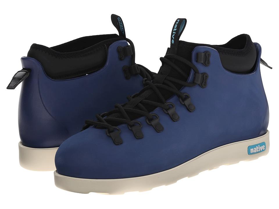 Native Shoes Fitzsimmons (Regatta Blue/Bone White) Shoes