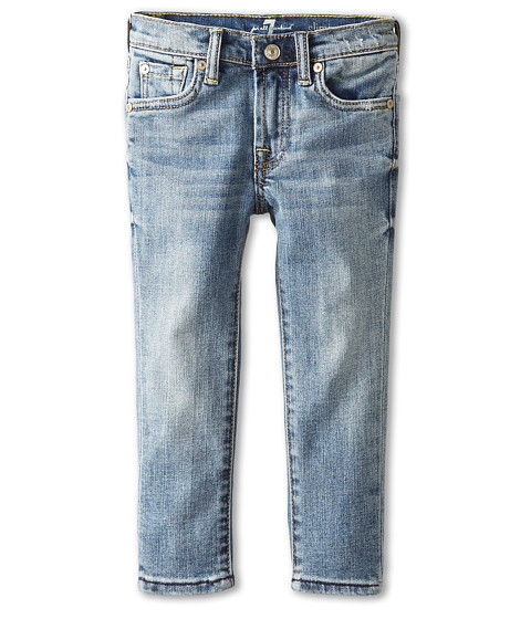 7 For All Mankind Kids - Slimmy Jeans in Classic Vintage Blue (Toddler) (Classic Vintage Blue) Boy's Jeans
