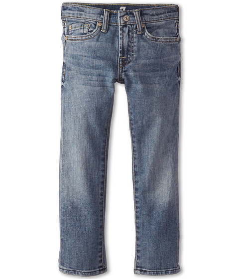 7 For All Mankind Kids - Slimmy Jeans in Classic Vintage Blue (Little Kids/Big Kids) (Classic Vintage Blue) Boy