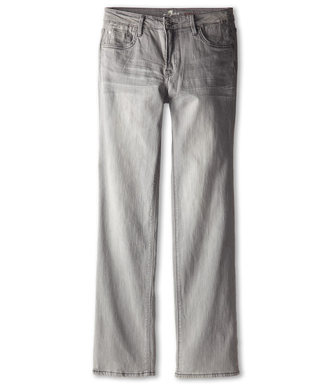 7 For All Mankind Kids - Straight Leg Standard Jeans in Ghost Grey (Big Kids) (Ghost Grey) Boy