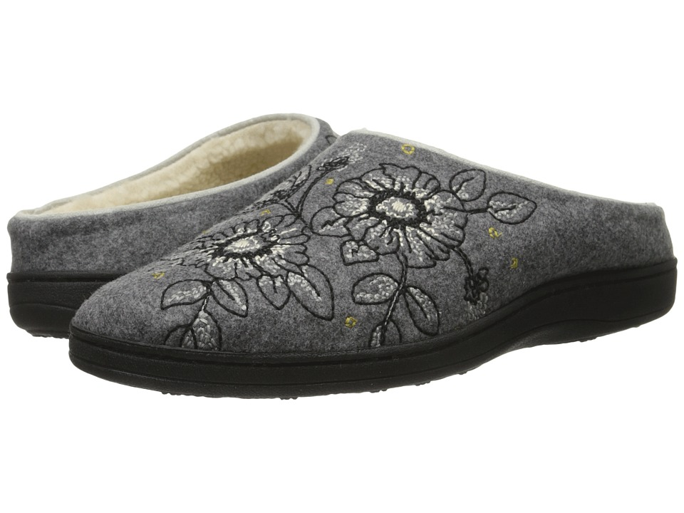 Acorn - Talara Mule (Smoke) Women's Slippers