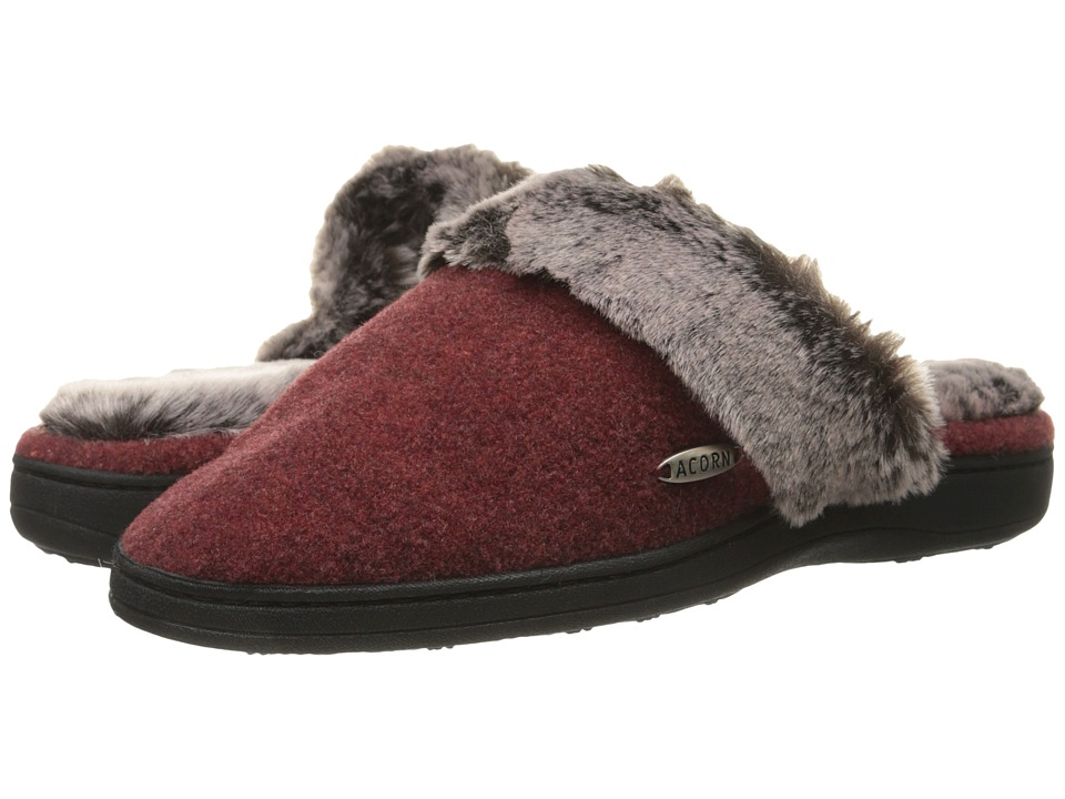 Acorn - Chinchilla Scuff (Crackleberry) Women's Slippers