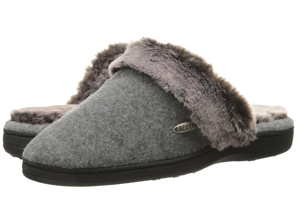 Acorn - Chinchilla Scuff (Stone) Women's Slippers
