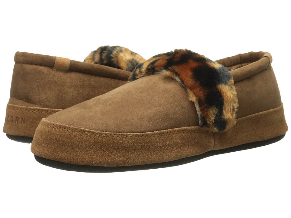 Acorn - Moc Wildside (Gingersnap) Women's Slippers