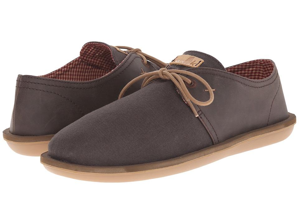Sanuk - Parra Select (Brown) Men's Lace up casual Shoes
