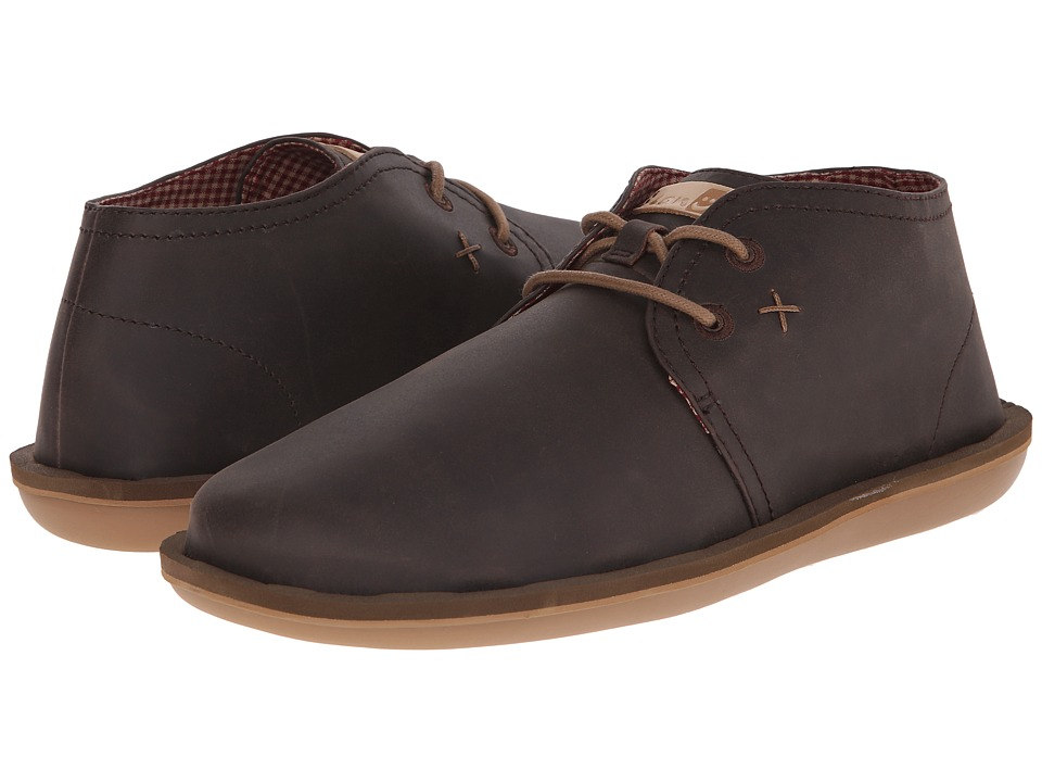 Sanuk - Koda Select (Brown) Men's Lace up casual Shoes