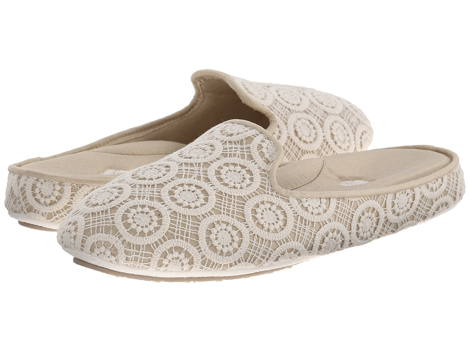 Acorn - Novella Scuff (Cream Lace) Women's Slippers