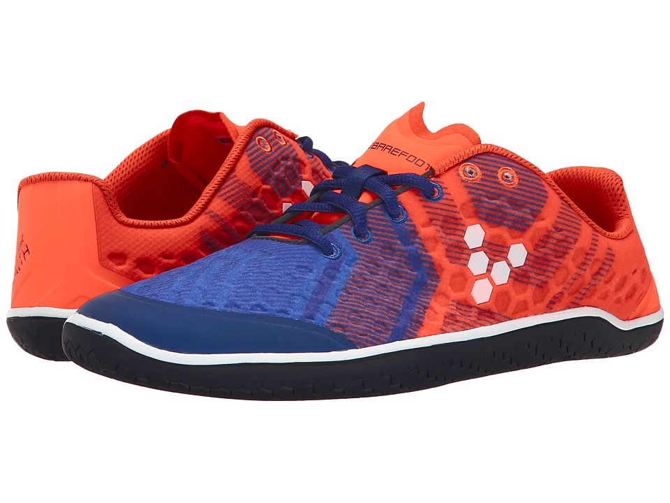 Vivobarefoot - Stealth II WP (Orange/Navy) Men's Shoes