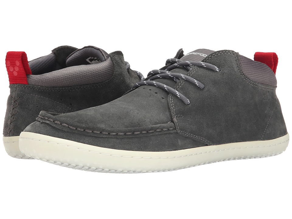Vivobarefoot - Drake (Dark Grey) Men's Shoes