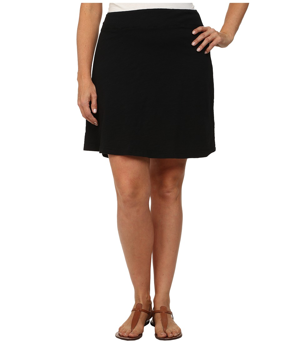 Fresh Produce - Plus Size Marina Skirt (Black) Women