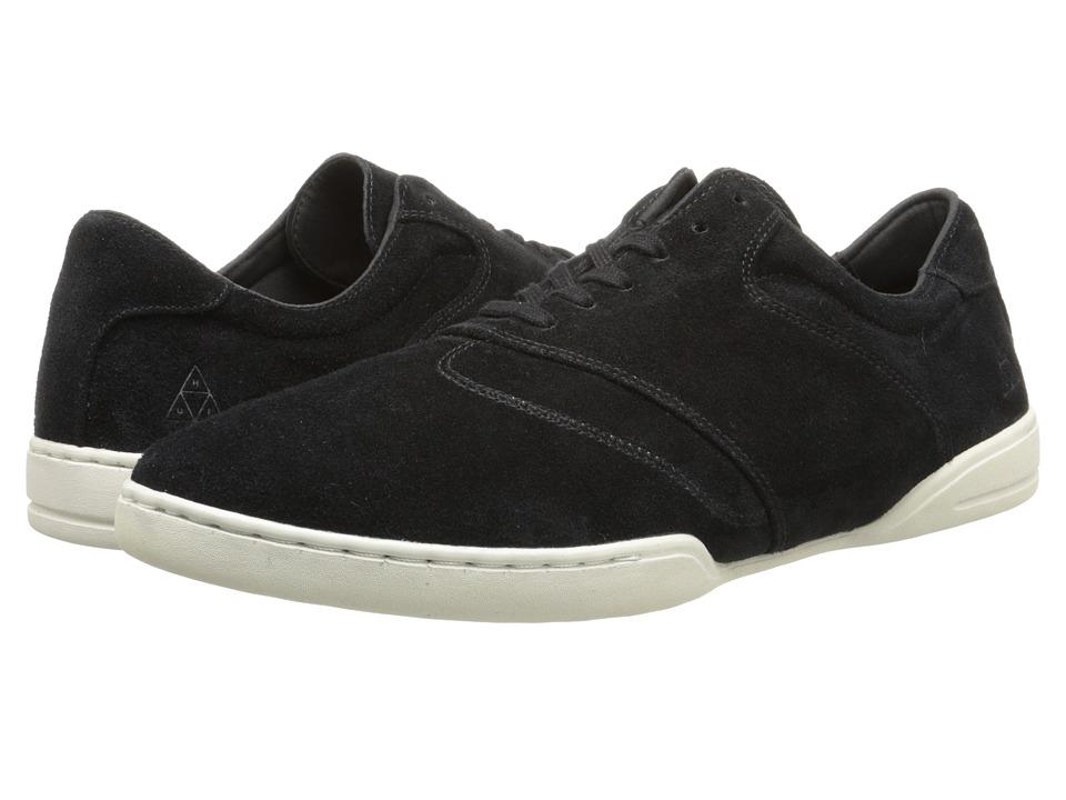 HUF - Dylan (Black/Bone White) Men's Skate Shoes